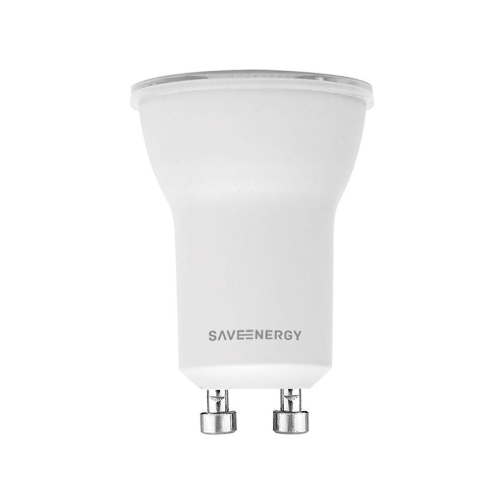 LAMPADA MINI DICROICA LED 4W BRANCO NEUTRO 4000K SAVE ENERGY