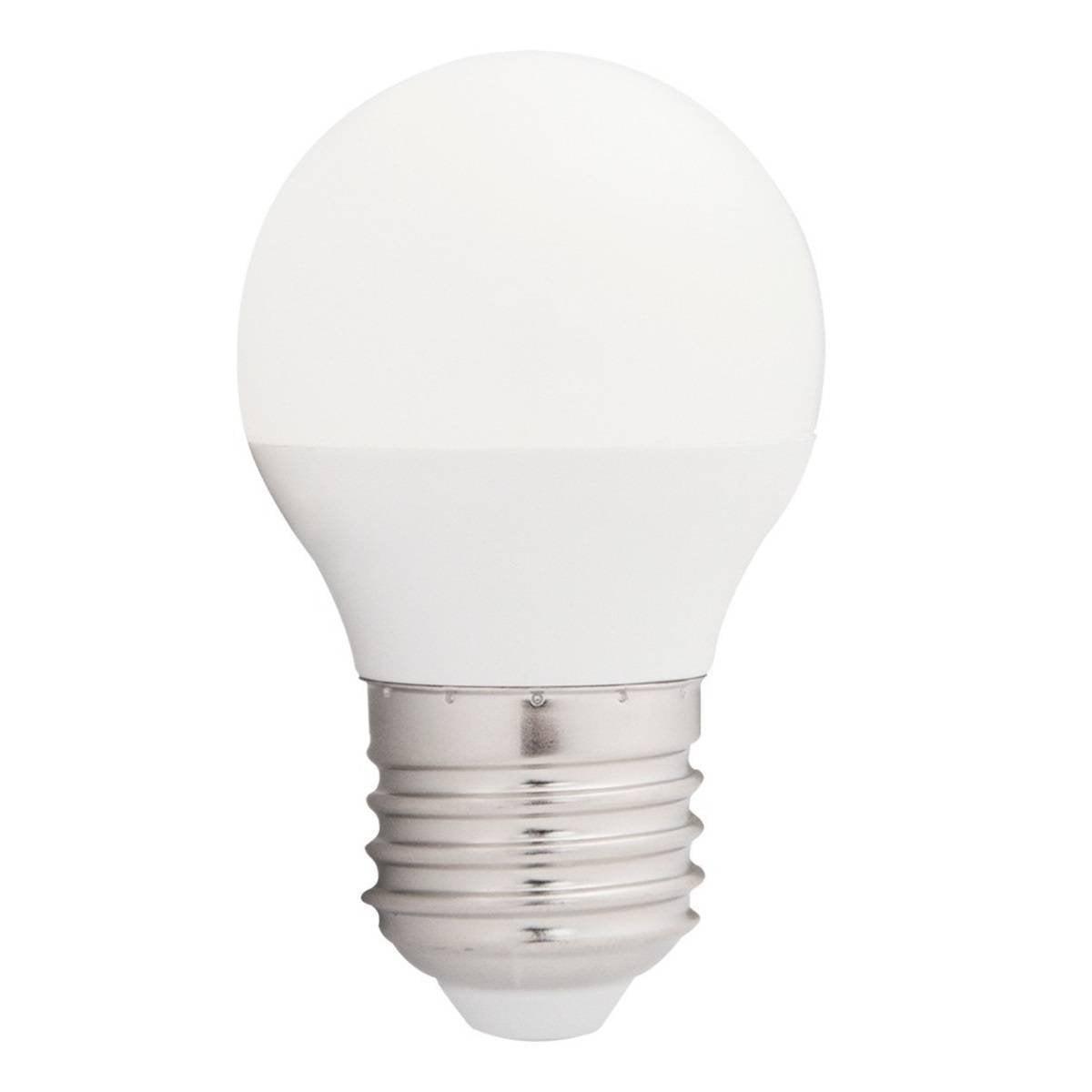LAMPADA BOLINHA LED 4W 350LM 6500K BRANCO FRIO BIVOLT