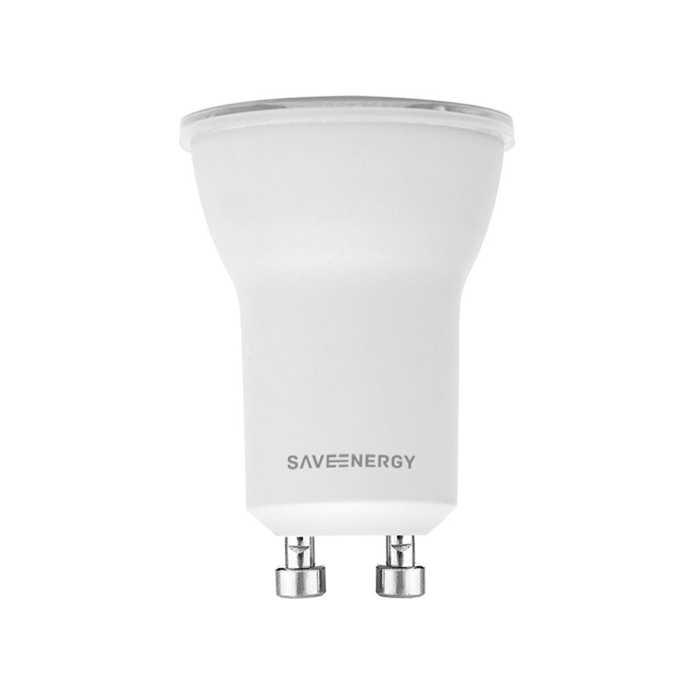 LAMPADA MINI DICROICA LED 4W BRANCO QUENTE 2700K BIVOLT SAVE ENERGY