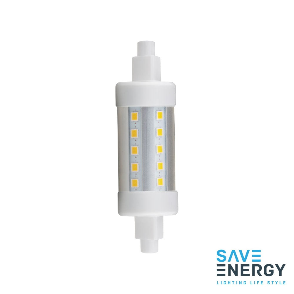 LAMPADA PALITO LED 5W 78MM BRANCO QUENTE 2700K SAVE ENERGY