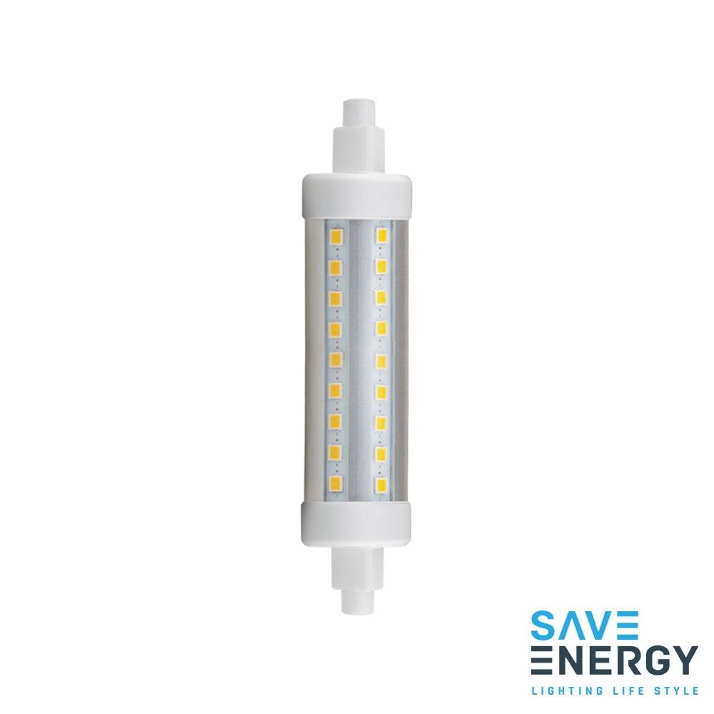 LAMPADA PALITO LED 9W 118MM BRANCO QUENTE 2700K SAVE ENERGY