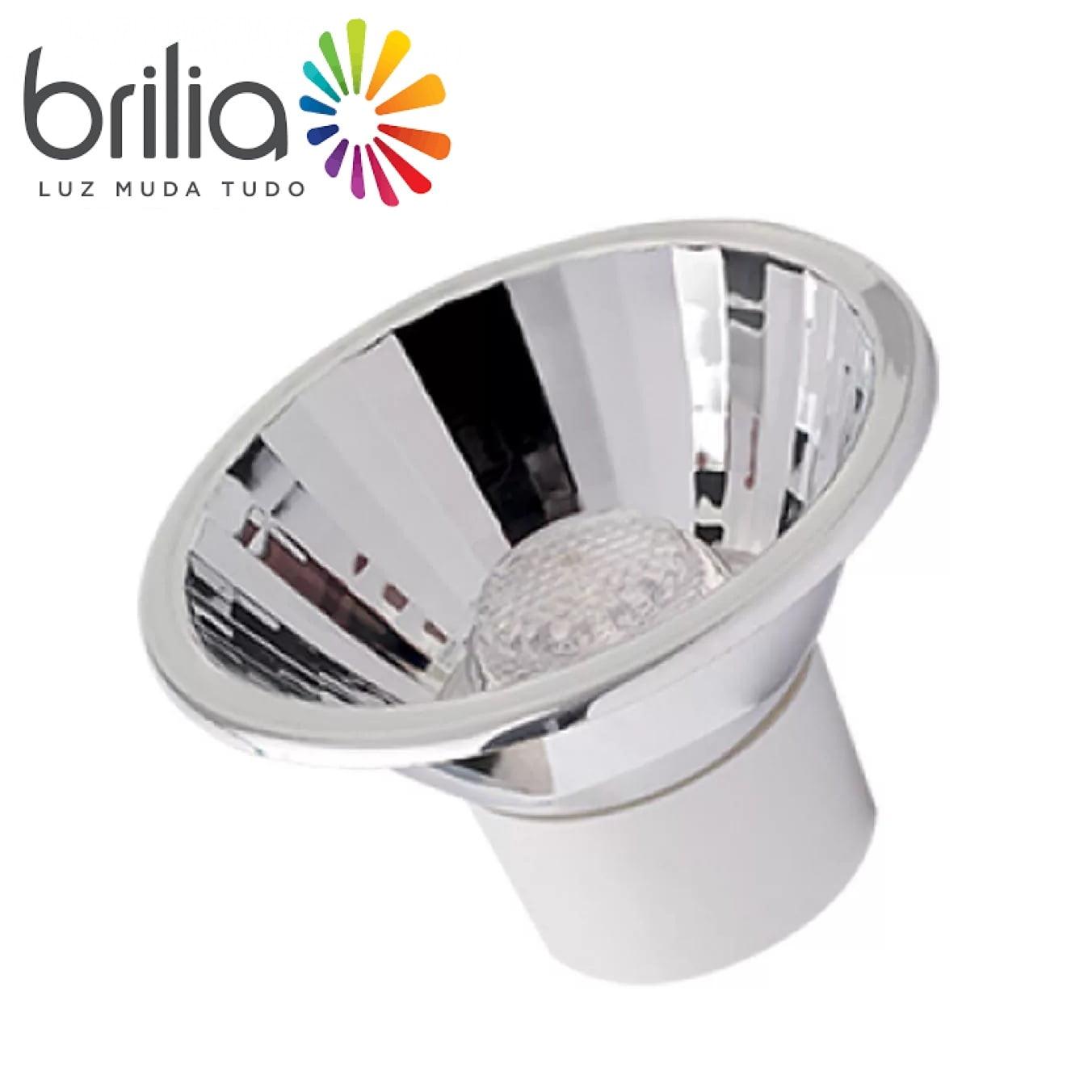 LAMPADA AR70 LED 5W 24° BIVOLT BRANCO QUENTE 2700K