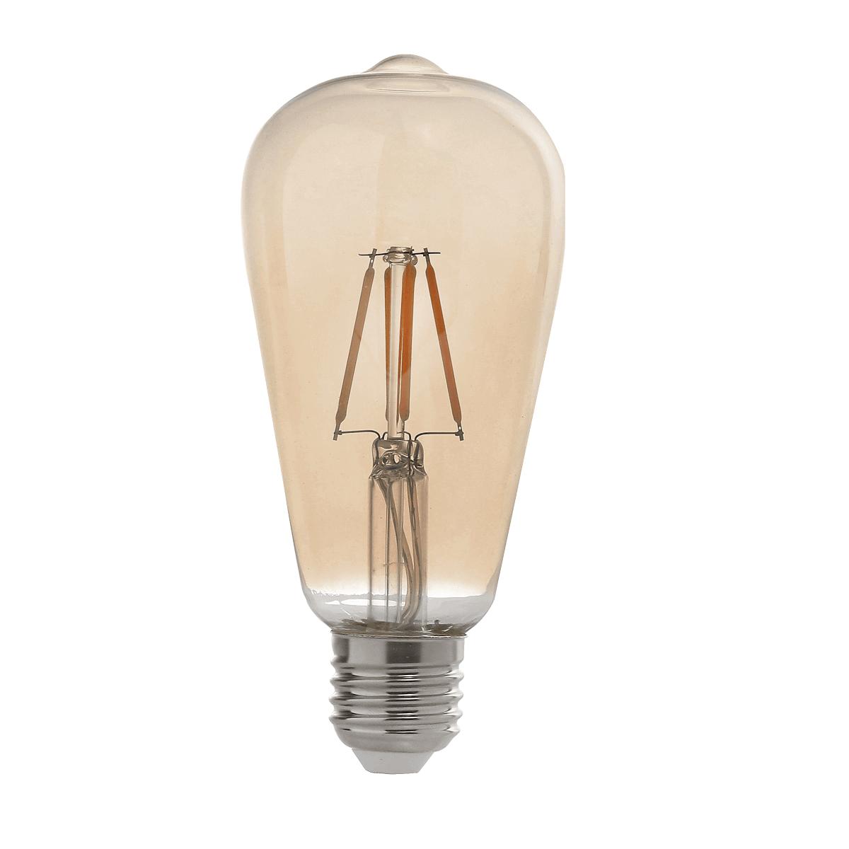 LAMPADA RETRO FILAMENTO LED ST64 2W BIVOLT MBLED
