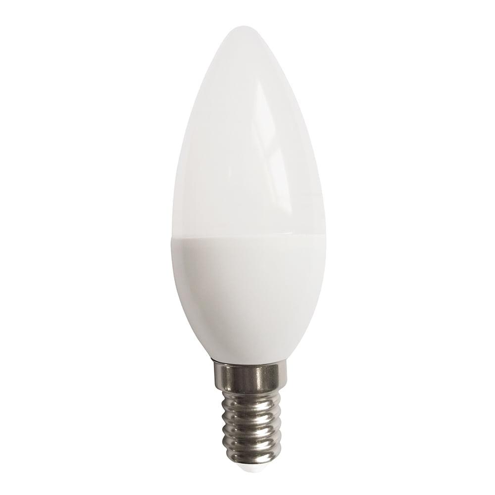 LAMPADA VELA LED 4,8W BRANCO FRIO 6500K BASE E14