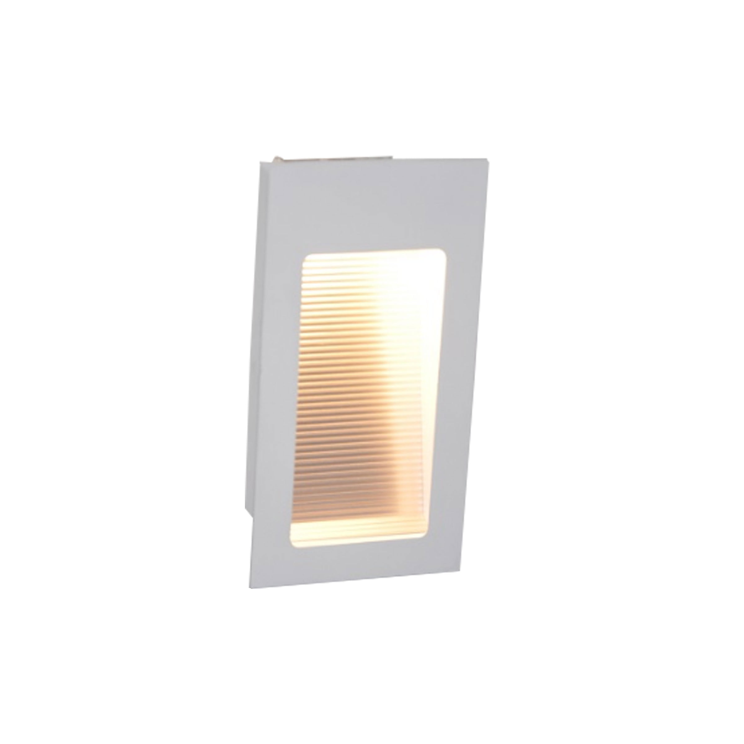 BALIZADOR EMBUTIR INCLINADO 180 X 95mm PARA UMA LAMPADA G9/HALOPIN