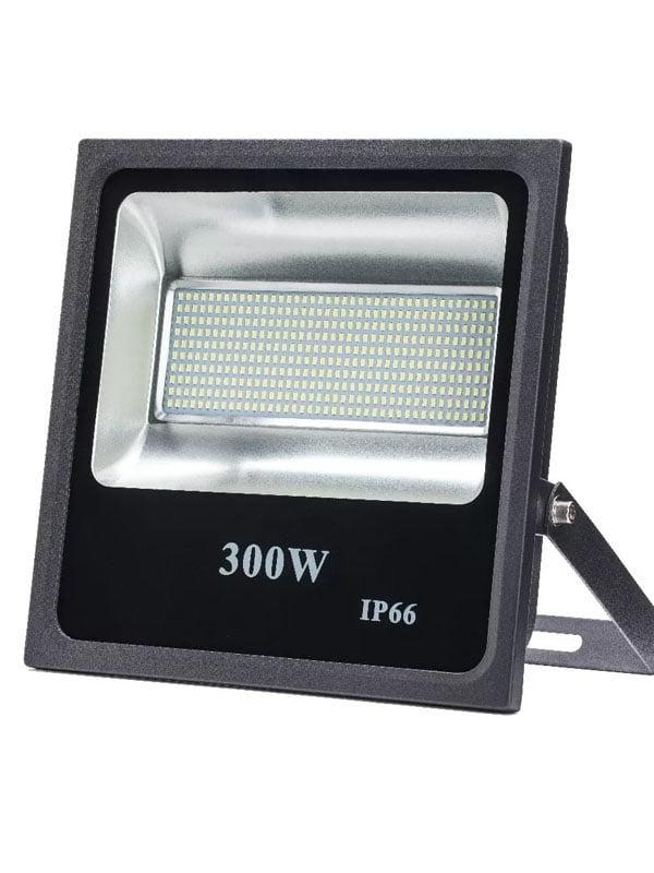 REFLETOR LED 300W BIVOLT BRANCO FRIO 6500K