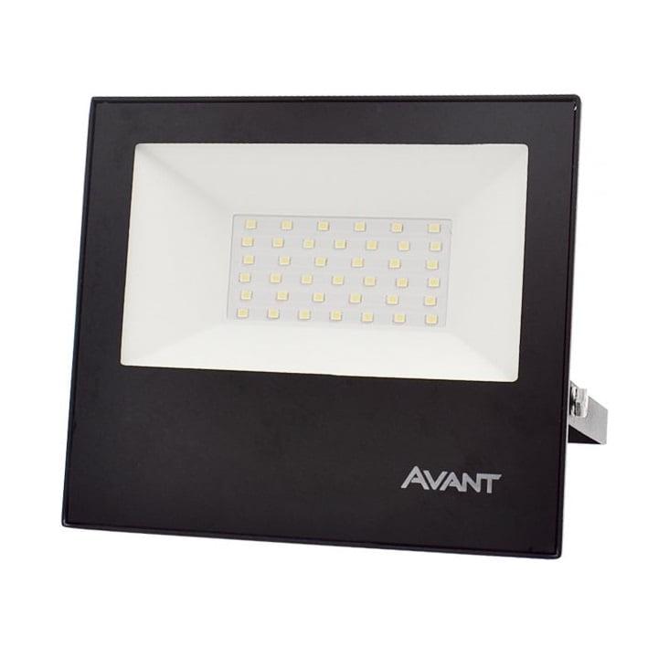 REFLETOR LED 50W VERDE BIVOLT AVANT
