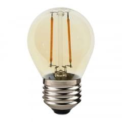 LAMPADA RETRO LED BOLINHA G45 4W BIVOLT MBLED