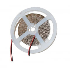 FITA LED SMD 3528 BRANCO NEUTRO 4000K 48W/M IP20 5 METROS JIKATEC