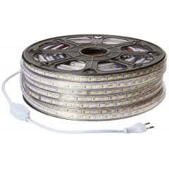 FITA LED 127V 14,4W BRANCO FRIO 6500K KIT 20 METROS