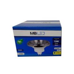 LAMPADA AR111 LED 14W 44° BRANCO QUENTE 3000K BIVOLT MBLED