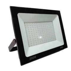 REFLETOR LED 200W BIVOLT BRANCO FRIO 6500K