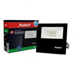 REFLETOR LED 10W VERDE AVANT